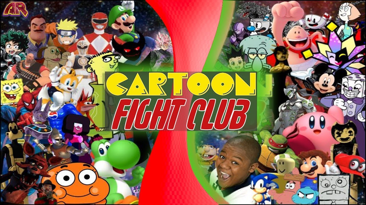 CARTOON FIGHT CLUB ULTIMATE SHOWDOWN 2! (Sonic Vs Mario