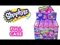 Shopkins Season 7 Full Case Unboxing Toy Review Blind Box Opening Entire Case