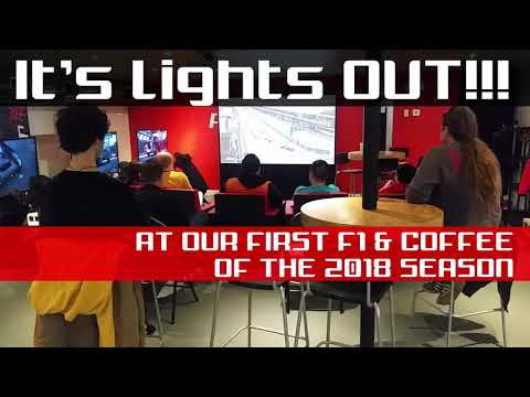 F1 & Coffee Events are Back!