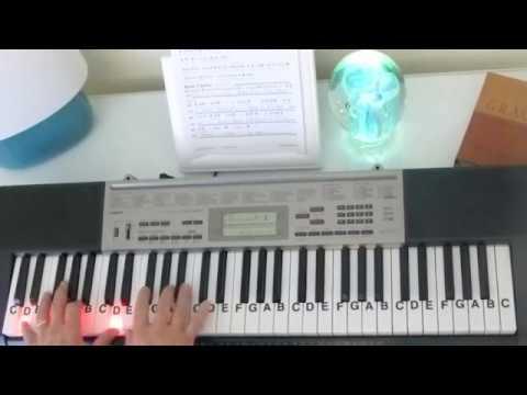 How to Play ~ 10,000 Reass ~ Matt Redman ~ LetterNotePlayer ©