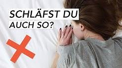 Diese Schlafposition solltest Du unbedingt vermeiden!   Liebscher & Bracht