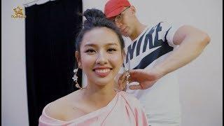 Hoa hậu Nhân ái 2018 Nguyễn Thúc Thùy Tiên hát và nói tiếng Pháp