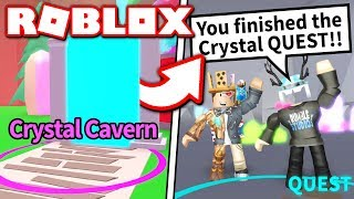 I COMPLETED ALL *NEW* QUESTS in MINING SIMULATOR CRYSTAL UPDATE!! (Roblox)