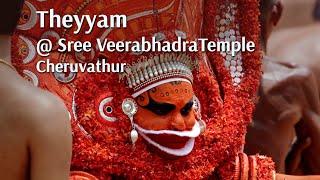 Theyyam @ Cheruvathur Sree Veerabhadra Temple