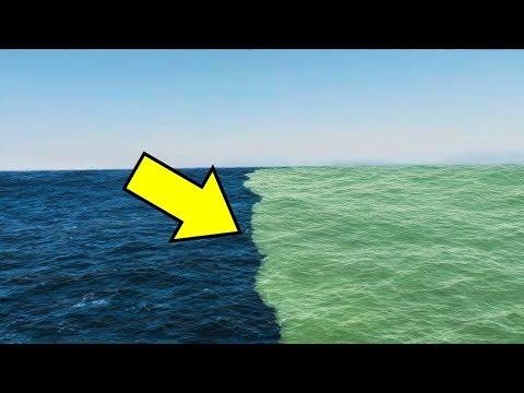 هذا هو السبب في أن هذان البحران لا يختلطان ... سبحان الله  - نشر قبل 19 دقيقة