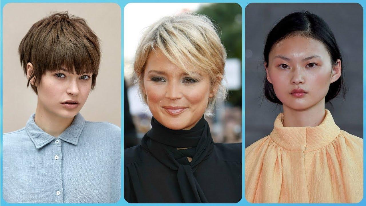 Top 20 modelli 💘 di tagli capelli corti femminili viso ...