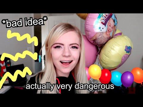singing with helium *weird*