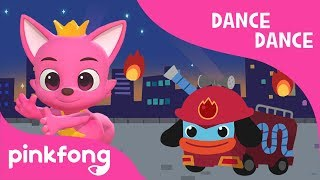 Hurry Hurry Drive the Fire Truck   Car Songs   Dance Dance   Pinkfong Songs for Children