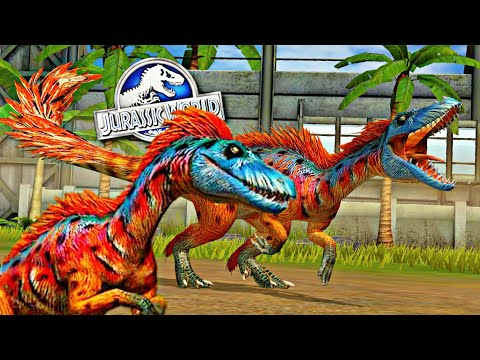 Evolução: Tanycolagreus Nível 40 - Dinossauros Vip! [Gambassauro] - Jurassic World o Jogo [The Game]