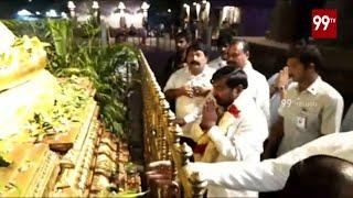 Minister Jagadish Reddy Visits Srisailam with Family | Telangana News | 99 TV Telugu