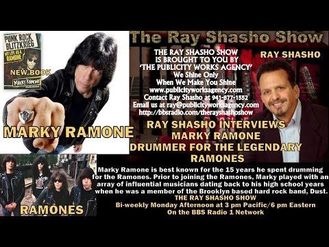 RAY SHASHO WELCOMES 'RAMONES' LEGEND MARKY RAMONE
