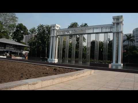 アキーラさん訪問②シンガポール・イスタナ公園!Istana park in Singapore