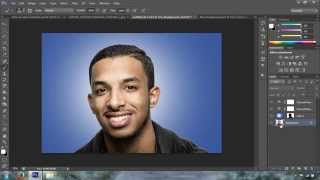 How to add a background in Photoshop CC