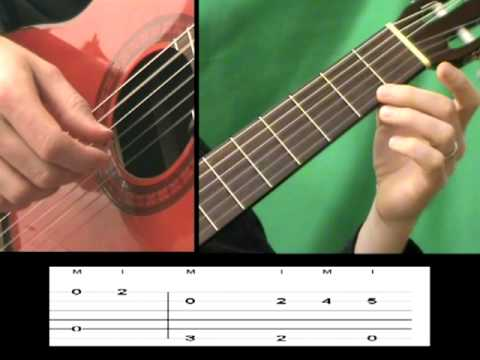 J.S Bach - Bourree in E minor BWV 996 -  (Guitar Lesson) - How to play