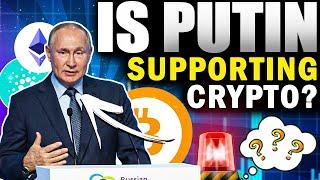 Cryptopedia - Vladimir Putin Signaled Acceptance of Cryptocurrency