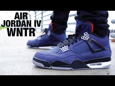 Air Jordan 4 WINTER Review & GIVEAWAY