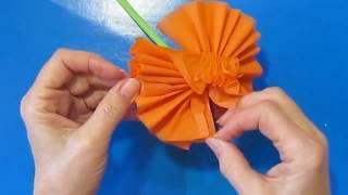Как сделать красивые Цветы из Бумаги Поделки своими руками для начинающих подарок День Матери,8марта