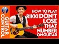 How to Play Rikki Don't Lose That Number on Guitar: Steely Dan Lesson | Guitar Control