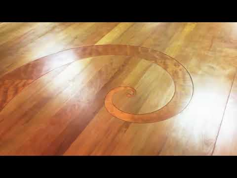 Ancient Kauri Fibonacci Curl - AMAZING FLOOR DETAIL!