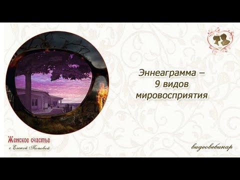 Эннеаграмма –  9 видов мировосприятия. Елена Попова
