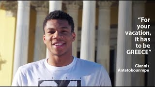 #Antetokounmpo invites you to Greece