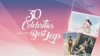 WATCH: 30 celebrities with the best legs