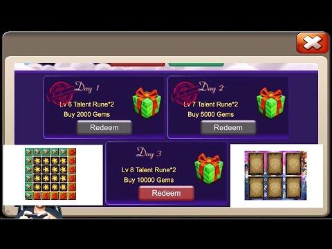 JT'S Main 12 Lucky Flips Full BINGO Card Buy Gems Daily & Win Castle Clash