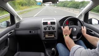 Virtual Test Drive In Our Volkswagen Touran 1 9 TDI Match   2010 10