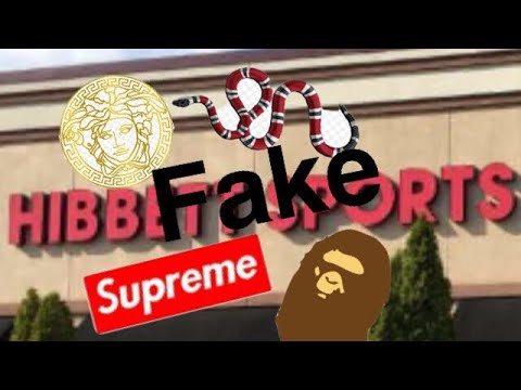 f0cb57c021dc7 Exposing Hibbett Sports for selling fake Supreme