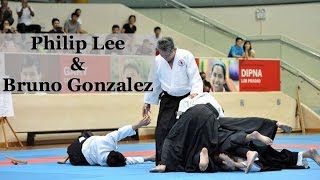 AIKIDO: Philip Lee and Bruno Gonzalez @ Shinju-Kai Hombu Dojo