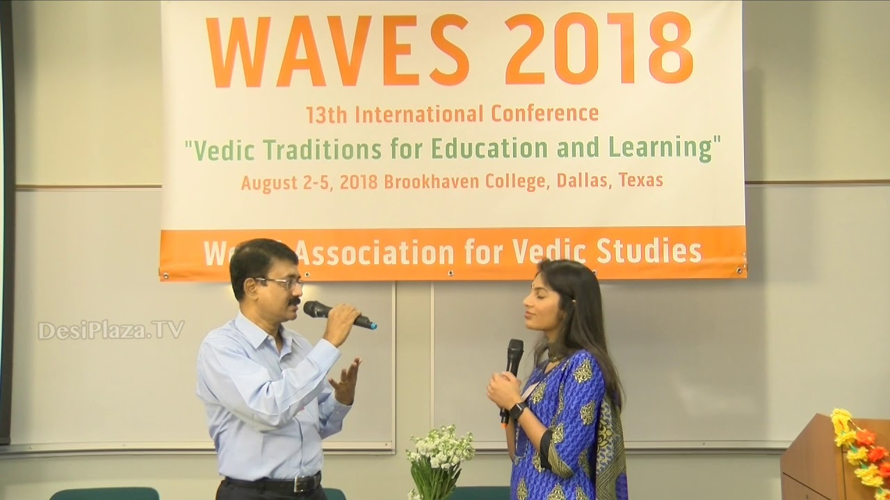 Media Byte / Interview with Mr Rajeev Srinivasan at WAVES  Dallas, Texas - 2018.