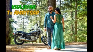one of the scenic route of himachal khajiyar to amritsar ep4