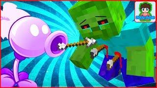 Майнкрафт напал на растение против зомби смотреть Minecraft Plants vs zombie От Фаника 9