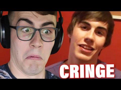 Reacting to my LEAST POPULAR VIDEOS *cringe warning*