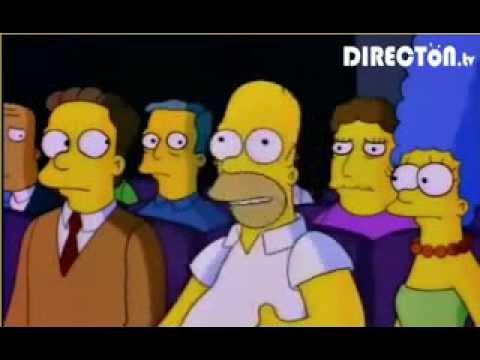 Los Simpsons Bola en la Ingle