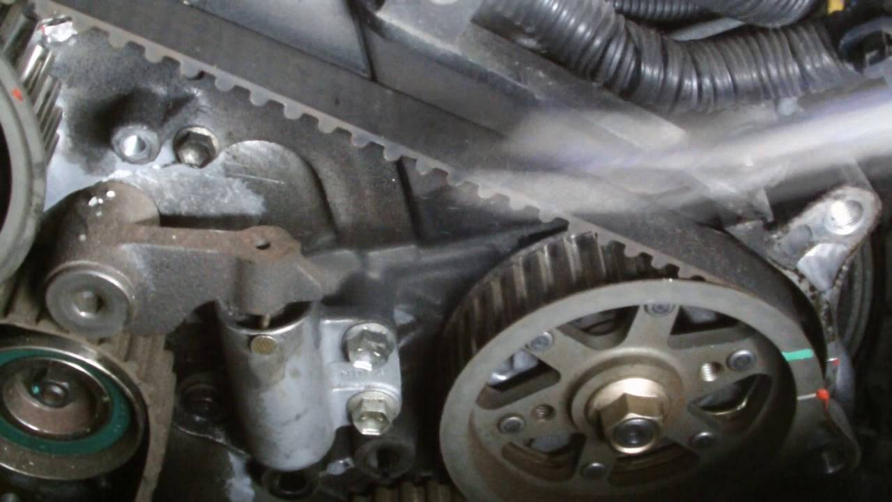 TOYOTA ENGINE REPAIR D4D CAM BELT  YouTube
