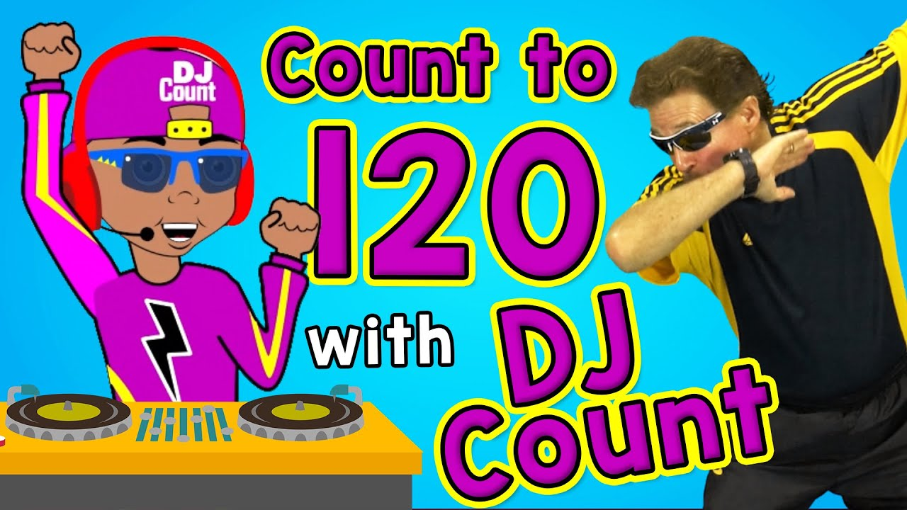 Download Count to 120 with DJ Count   Jack Hartmann