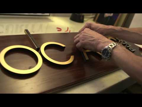 Sign-Maker Frank Smith Talks Making Signs | AHA! A House for Arts