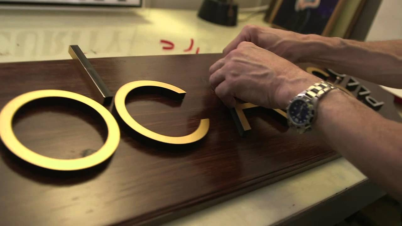 sign maker frank smith talks making signs aha a house for arts youtube