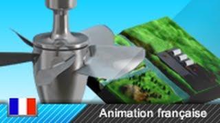Turbine Kaplan / centrale hydroélectrique / centrale gravitaire - Fonctionnement