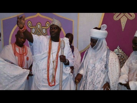 Ooni of Ife Visits Emir of Ilorin