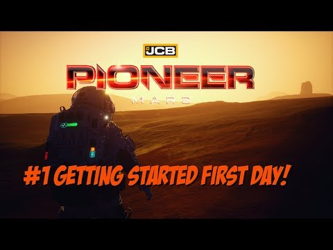 JCB Pioneer Mars - Episode 1 Getting Started - Extreme Hardcore!