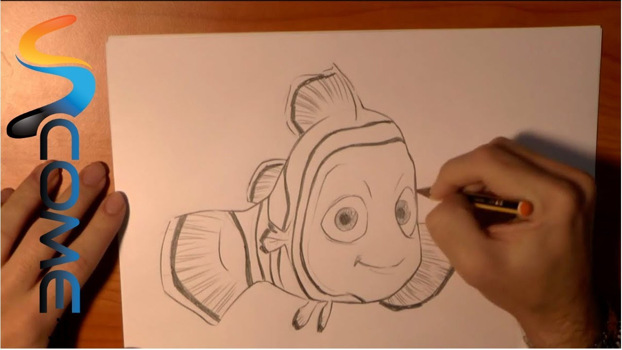Come Disegnare Nemo Del Film Alla Ricerca Di Nemo Youtube