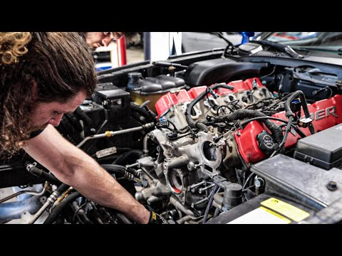 """Opening my Viper's """"Stock"""" Engine to find Forged Internals!"""
