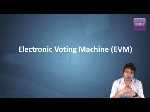 IAS Preparation - Current Affairs: Electronic Voting Machine