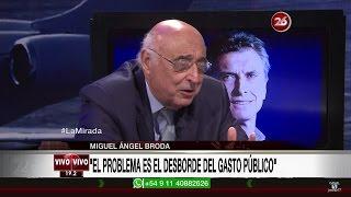 """Miguel Ángel Broda en """"La mirada"""" de Roberto García - 05/12/16"""