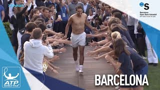 Nadal's Big Dive After 11th Barcelona Triumph