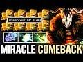MIRACLE [Juggernaut] Most IMBA Omnislash Build 7.21 NEW EPIC Carry Miracle- Dota 2