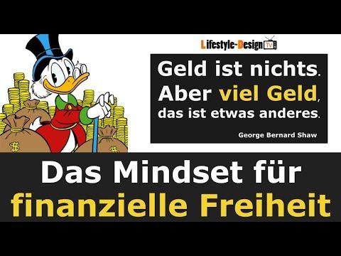 Das Mindset für finanzielle Freiheit - Erfolgreich Geld verdienen - Erfolg Geld Reichtum - 1