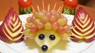 как сделать нарезке овощей и фруктов